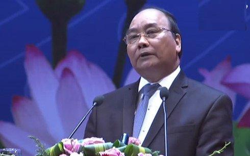 Hinh anh Truc tiep: Thu tuong doi thoai voi cong dong doanh nghiep 18
