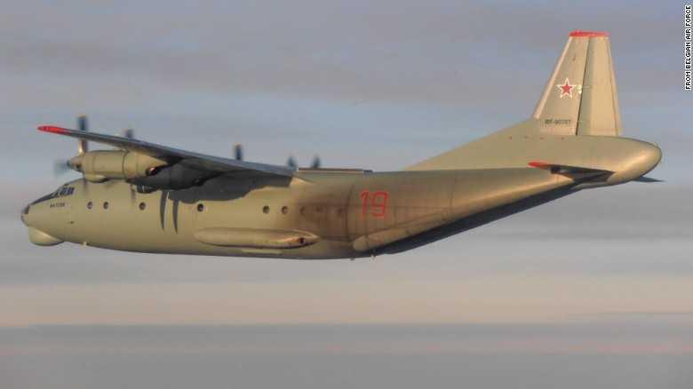 Cận cảnh máy bay An-12PPS của Nga