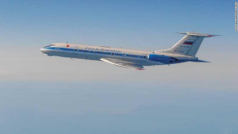 Máy bay Tu-134AK của Nga