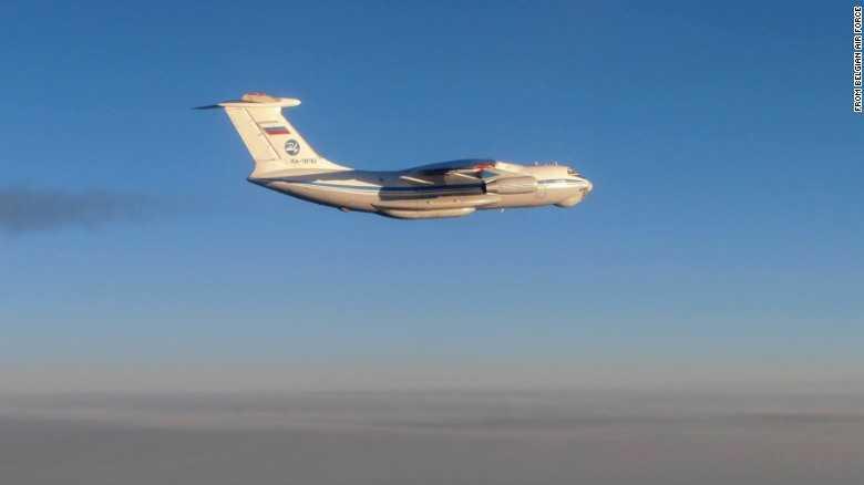 Máy bay Il-76 của Nga