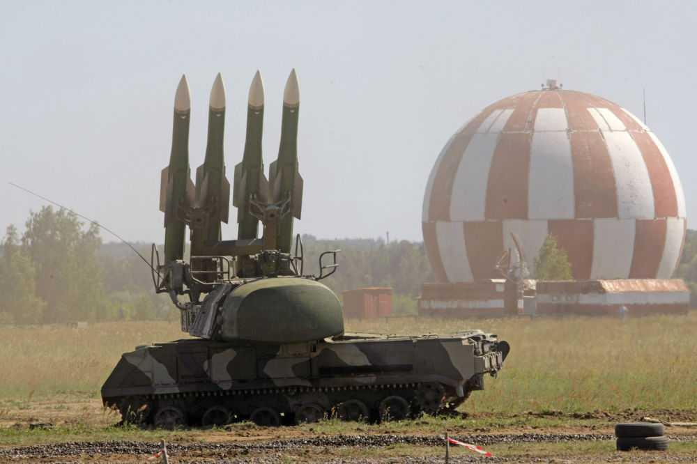 Hệ thống tên lửa phòng không cỡ nhỏ Buk-M2