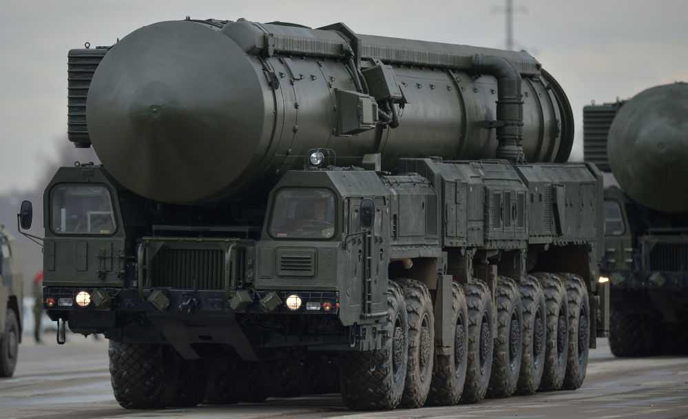 Tên lửa đạn đạo liên lục địa thế hệ thứ 5 RS-24 Yars với khả năng mang nhiều đầu đạn, tấn công nhiều mục tiêu