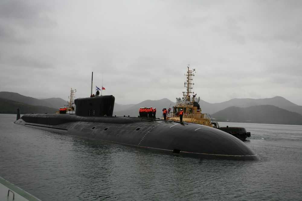 Tàu ngầm hạt nhân khổng lồ lớp Borey với khả năng mang các tên lửa đạn đạo liên tục địa Bulava