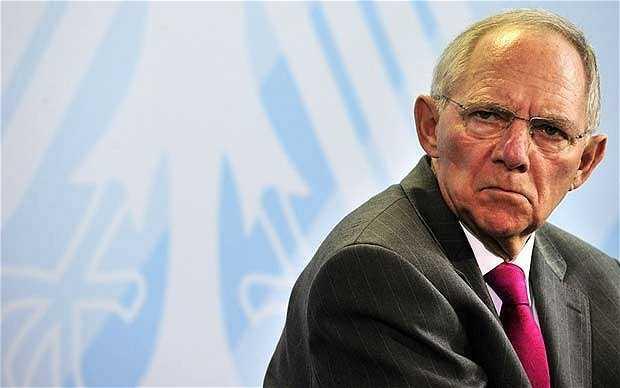 Bộ trưởng Tài chính Liên bang Đức Wolfgang Schäuble