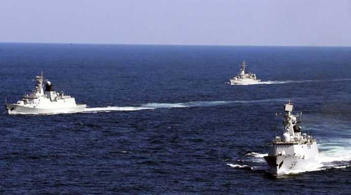 Trung Quốc ngang nhiên cấm tàu thuyền, tập trận trên Biển Đông