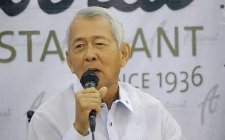 Ngoại trưởng Perfecto Yasay trả lời phỏng vấn
