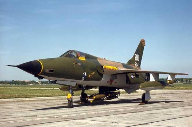 Gần một nửa số máy bay chiến đấu F-105 được sản xuất bị bắn hạ tại chiến trường Việt Nam