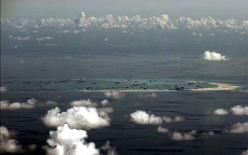 Trung Quốc đã và đang tiếp tục xây dựng đảo nhân tạo trái phép ở Biển Đông