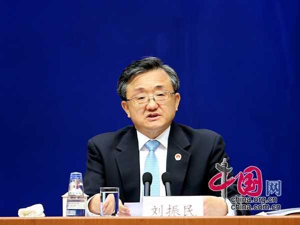 Thứ trưởng Ngoại giao Trung Quốc Lưu Chấn Dân tham gia cuộc họp báo sáng nay
