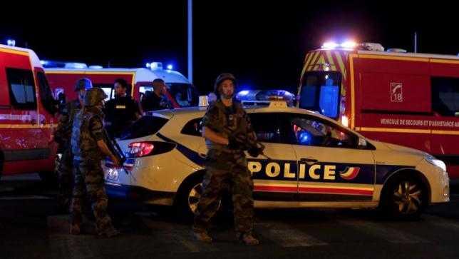 Cảnh sát bao vây hiện trường