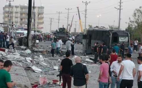 Đánh bom kép ở Thổ Nhĩ Kỳ, hàng chục người thương vong
