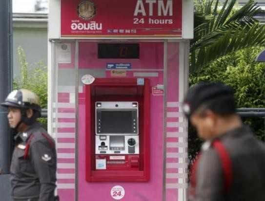 34.000 USD bi rut trom tai cac cay ATM o Thai Lan hinh anh 1
