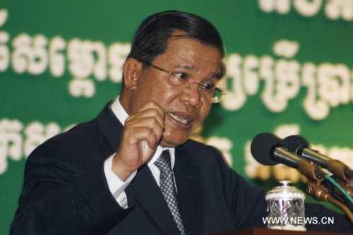 Thủ tướng Campuchia Hun Sen. Ảnh: Xinhua