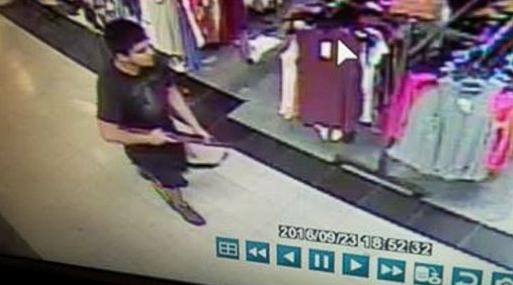 Hình ảnh nghi phạm do camera giám sát ghi lại. Ảnh: ABC News.