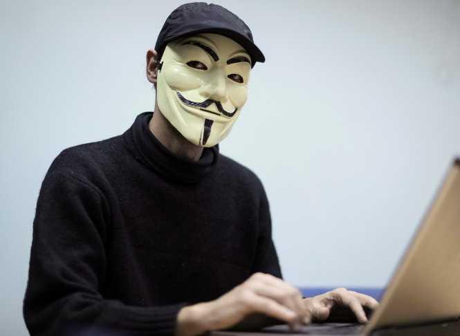hacker from Ukrainian 'hactivist' group RUH8