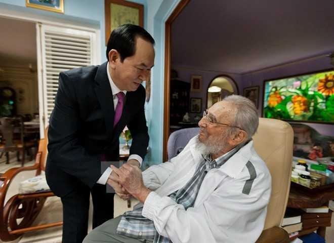 'Trai tim nguoi Viet luon khac sau cau noi cua Fidel Castro' hinh anh 1
