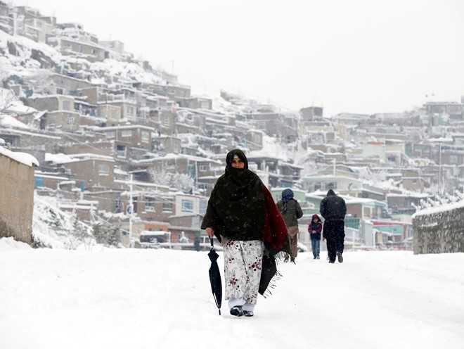 Afghanistan: Mua dong chet choc, 100 nguoi chet vi lo tuyet hinh anh 1
