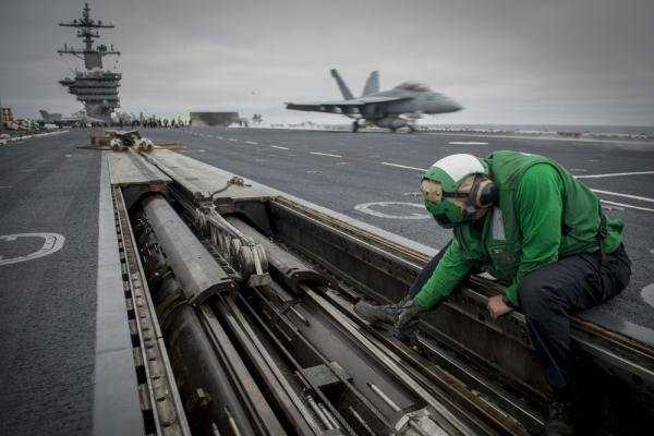 Đội tàu sân bay Carl Vinson có thể tham gia tuần tra ở Biển Đông - Ảnh: U.S. Navy.