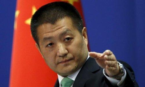 Người phát ngôn Bộ Ngoại giao Trung Quốc Lục Khảng. Ảnh: Reuters