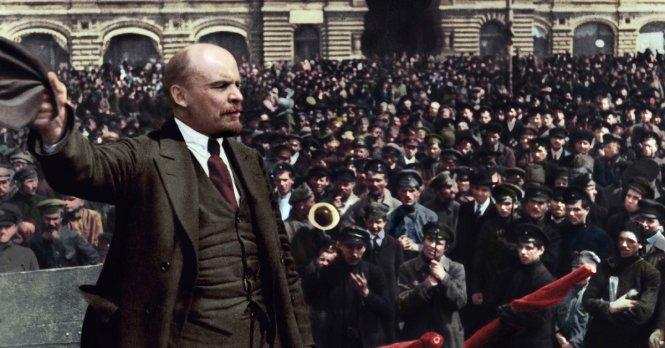 Nhà lãnh đạo đầu tiên của Liên bang Xô Viết, Vladimir Lenin - Ảnh: Sputniknews