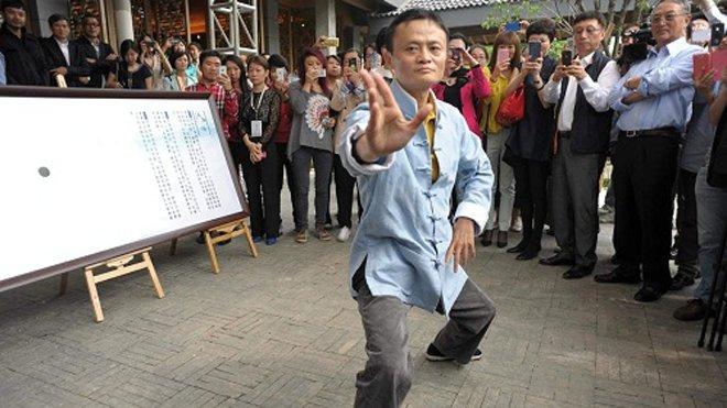 Tỷ phú Trung Quốc Mã Vân có nhiều năm luyện Thái cực quyền