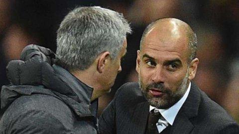 Guardiola lật tẩy chiêu bài tâm lý của Mourinho
