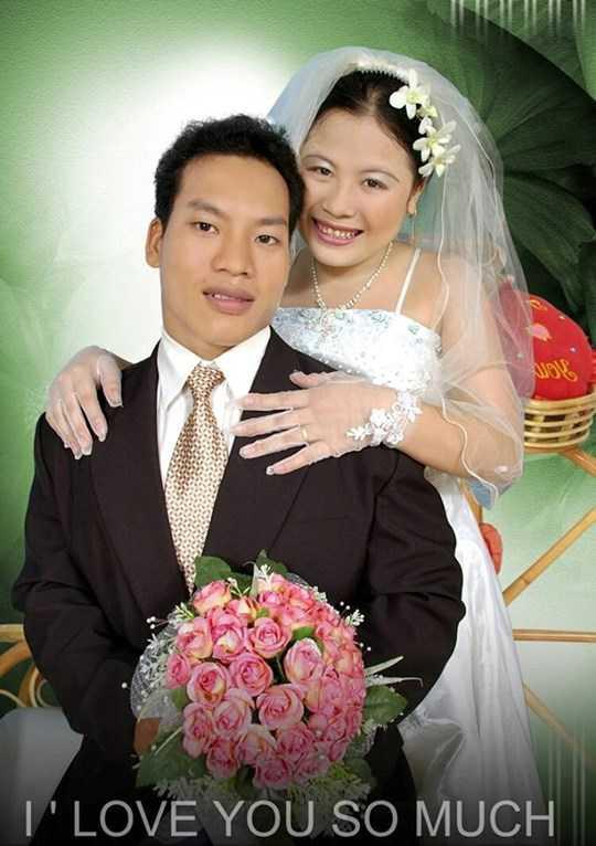 Ảnh cưới hạnh phúc của nhà vô địch Văn Công cùng người vợ xinh đẹp
