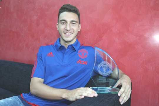 Darmian từng có khởi đầu ấn tượng tại Man United với giải thưởng cầu thủ xuất sắc nhất tháng 8/2015 của Man United