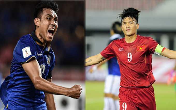 Dangda và Công Vinh hướng tới danh hiệu Vua phá lưới AFF Cup 2016.