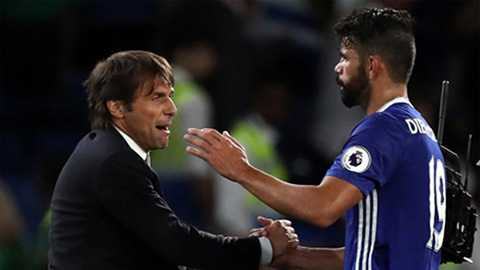 HLV Conte tiết lộ lý do không sử dụng Costa ở trận đấu với Leicester