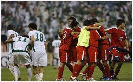 Triều Tiên đã bất ngờ giành vé đến Nam Phi 2010 sau trận hòa nhọc nhằn trước Saudi Arabia