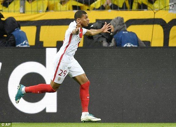 Hinh anh Link xem truc tiep Dortmund vs Monaco Tu ket cup C1 chau Au 12