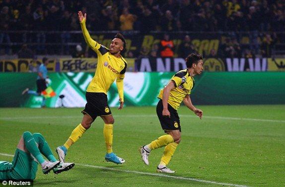 Hinh anh Link xem truc tiep Dortmund vs Monaco Tu ket cup C1 chau Au 17