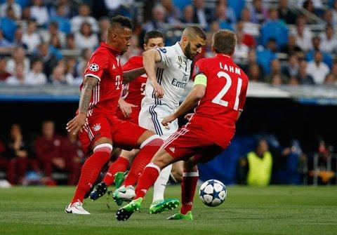 Hinh anh Link xem truc tiep Real Madrid vs Bayern Munich tu ket cup C1 chau Au 2017 13