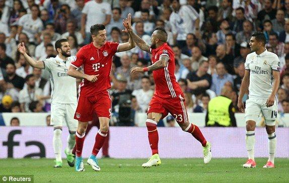 Hinh anh Link xem truc tiep Real Madrid vs Bayern Munich tu ket cup C1 chau Au 2017 18