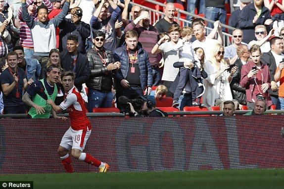 Hinh anh Link xem truc tiep Arsenal vs Man City ban ket FA Cup 2017 20