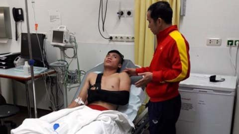 U20 Việt Nam về Hà Nội tối nay, riêng Tiến Dụng được ngồi hạng thương gia