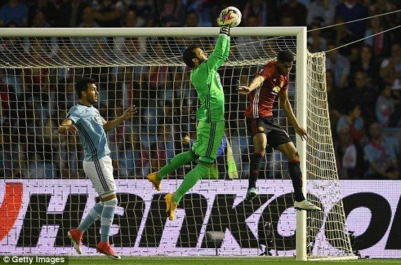 Hinh anh Link xem truc tiep Celta Vigo vs MU ban ket Europa League 2017 17