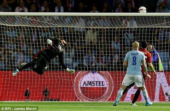 Hinh anh Link xem truc tiep Celta Vigo vs MU ban ket Europa League 2017 18