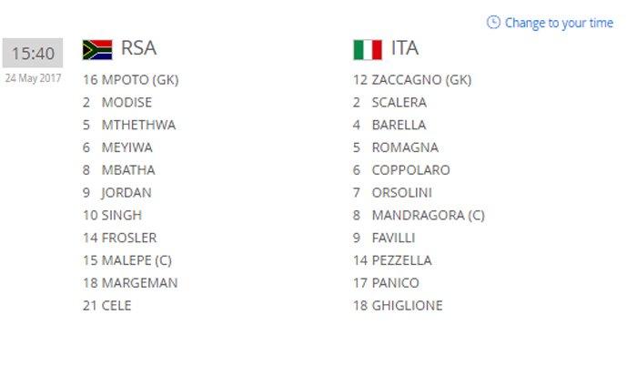 Hinh anh Truc tiep U20 Nam Phi vs U20 Italia giai U20 The gioi 2017