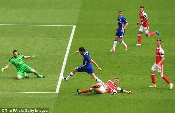 Hinh anh Truc tiep Arsenal vs Chelsea: Alexis Sanchez ghi ban quyet doan 14