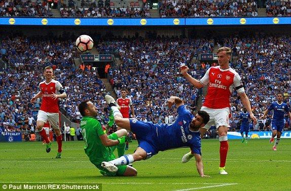 Hinh anh Truc tiep Arsenal vs Chelsea: Alexis Sanchez ghi ban quyet doan 15