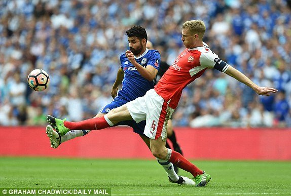 Hinh anh Truc tiep Arsenal vs Chelsea: Alexis Sanchez ghi ban quyet doan 16