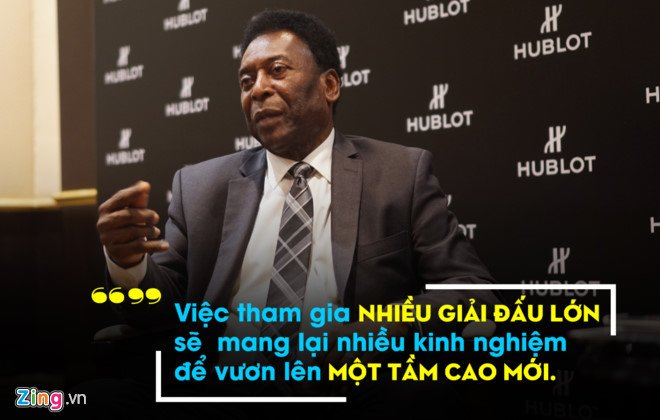 Pele hy vong Brazil vo dich World Cup 2018 hinh anh 1
