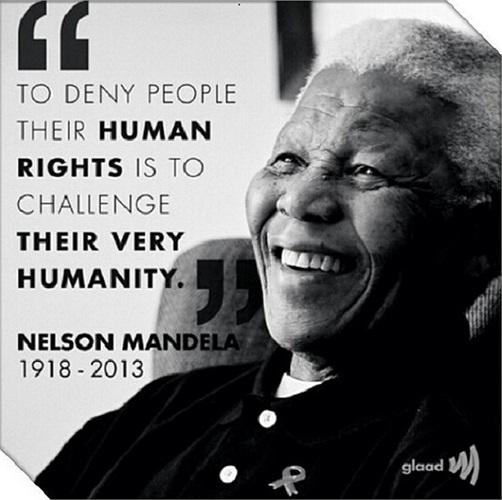 'Từ chối nhân quyền của con người chính là thách thức nhân tính của họ'
