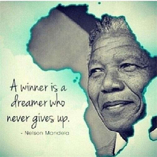 'Người chiến thắng là người biết ước mơ và không bao giờ bỏ cuộc'