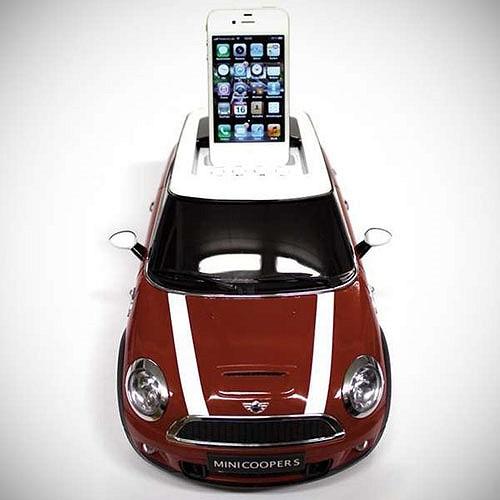 Sạc điện thoại kiểu Mini Cooper
