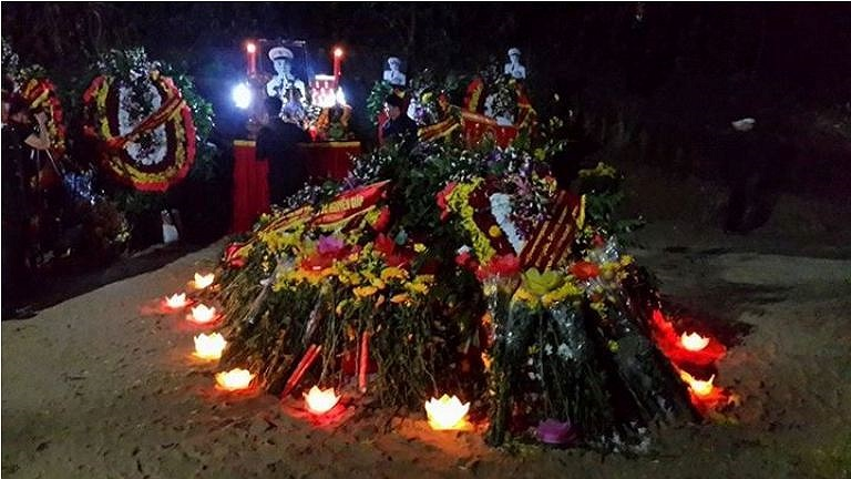 Đêm đầu tiên của Đại tướng tại Vũng Chùa - Đảo Yến