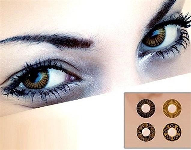 Năm 2013, công ty Ấn Độ Binny's  tung ra sản phẩm kính áp tròng bằng vàng với tên gọi Golden View.