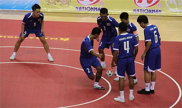 Tuyển Chinlone nam Thái Lan giành HCV SEA Games